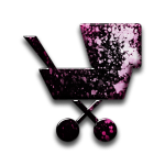 064927-pink-black-cherry-blossom-festival-icon-people-things-baby-stroller1small